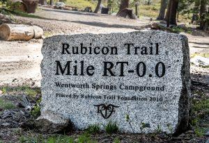 Rubicon Trail Begins
